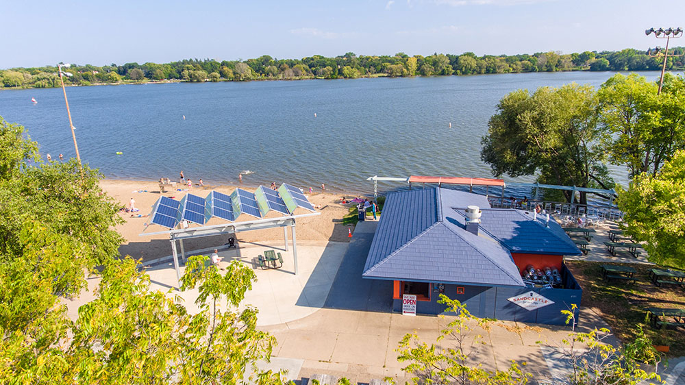 Lake Nokomis Park, Minneapolis MN